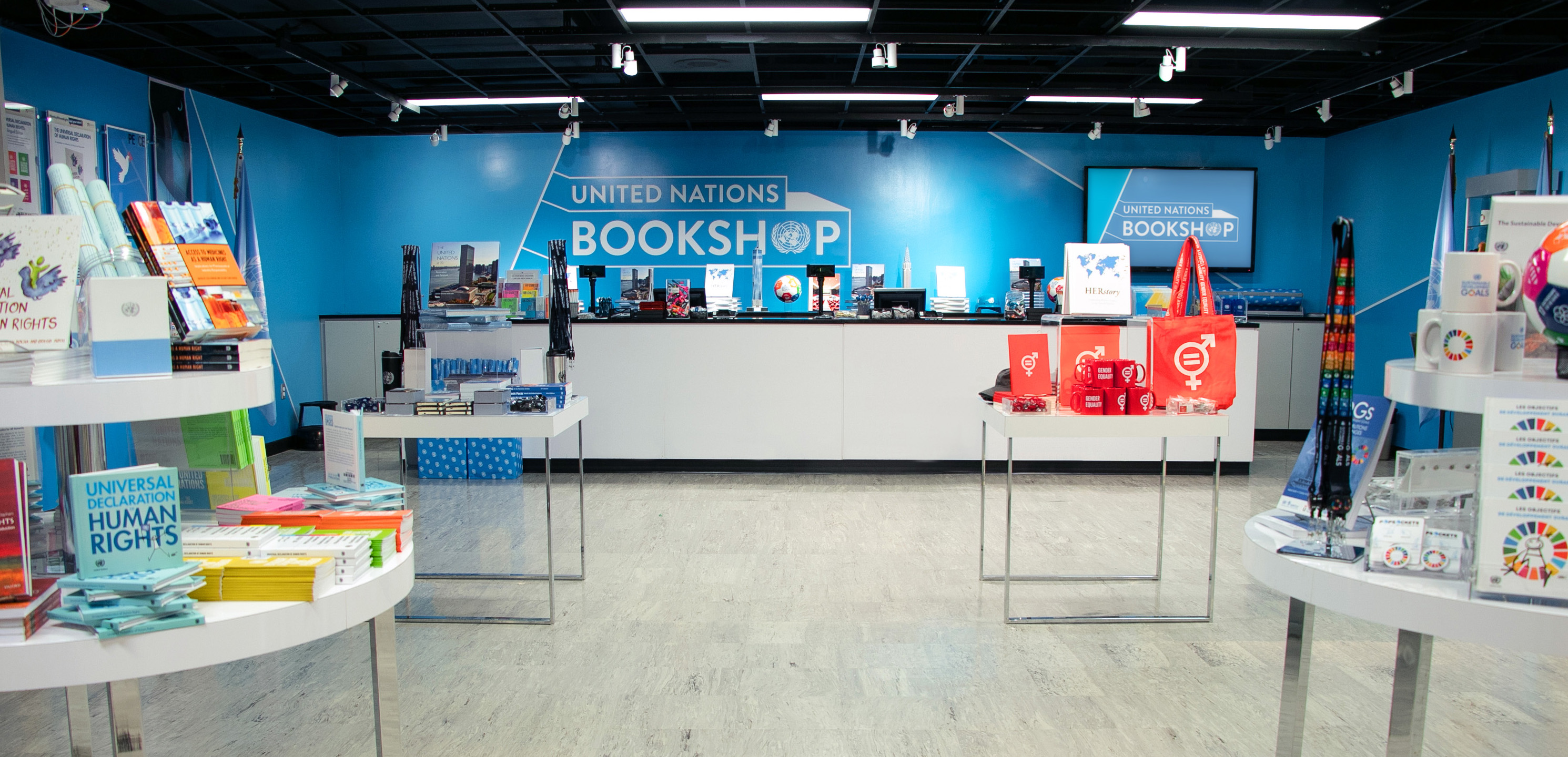 United Nations Bookshop Store Picture