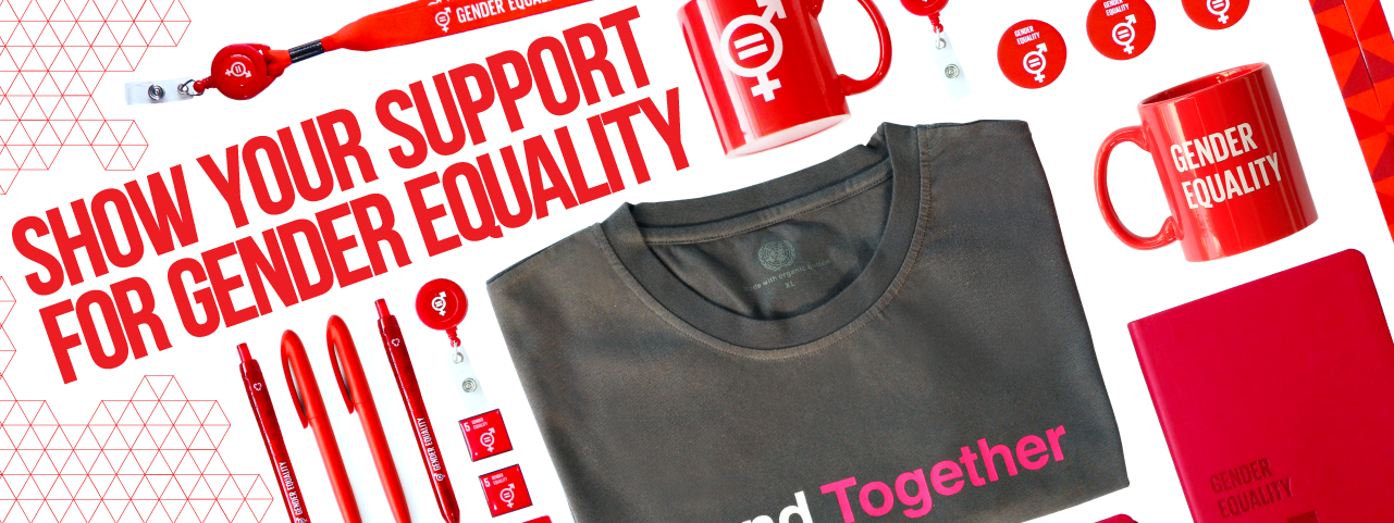 Show your support for Gender Equality