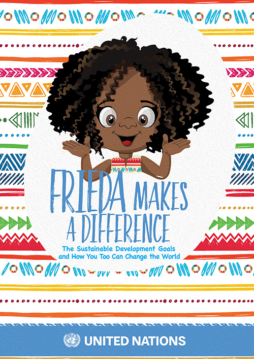 Frieda makes a difference - Bookcover