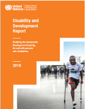 Disability and Development Report: Realizing the Sustainable Development Goals by, for and with Persons with Disabilities Book Cover