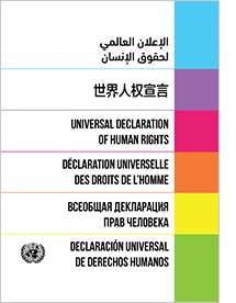 Universal Declaration of Human Rights: Dignity and Justice for All Book Cover