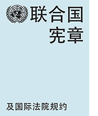 Charter of the United Nations and Statute of the International Court of Justice (Chinese language) Book Cover