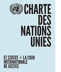 Charte Des Nations Unies Book Cover