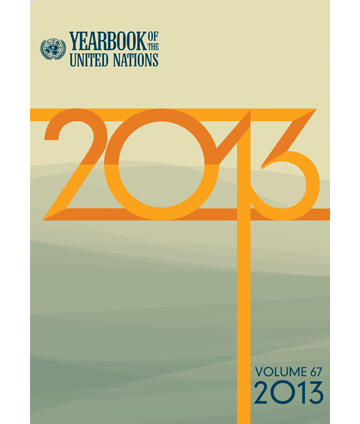 Yearbook of the United Nations 2013