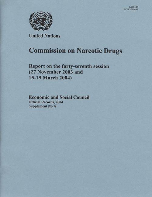EOR 2004 SUPP8 NARC DRUGS