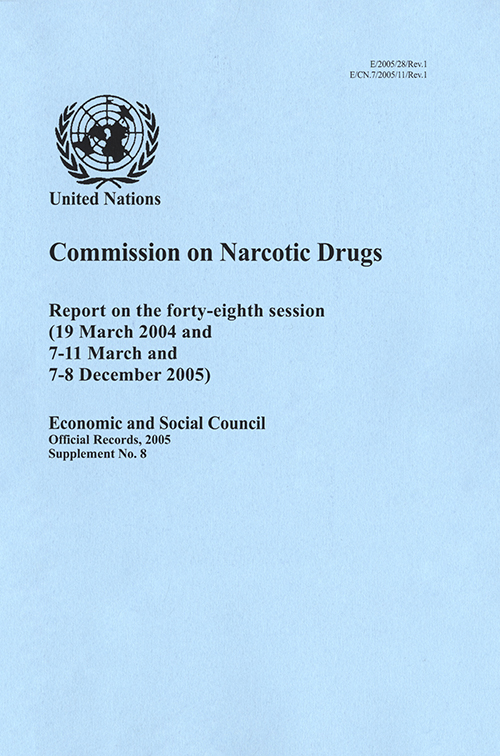 EOR 2005 SUPP8 NARC DRUGS