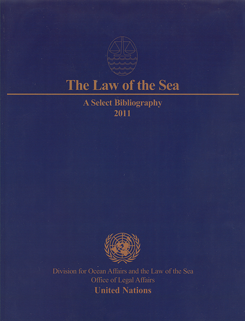 LAW OF THE SEA SELECT BIBL 2011
