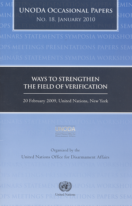 ODA OCCASIONAL PAPERS #18 2010