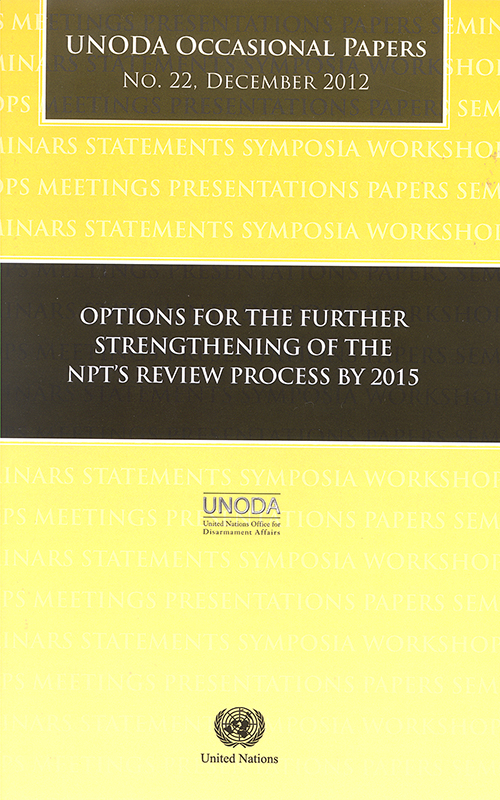 ODA OCCASIONAL PAPERS #22 2012