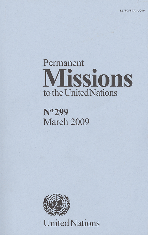 PERMANENT MISSIONS TO UN #299