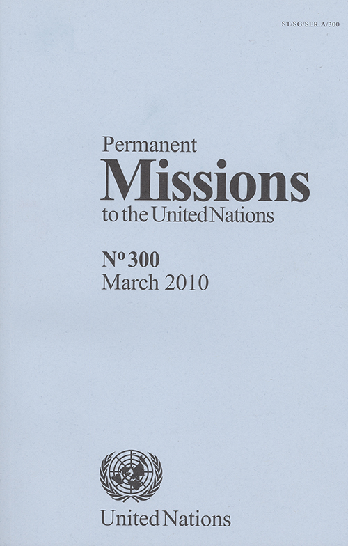 PERMANENT MISSIONS TO UN #300