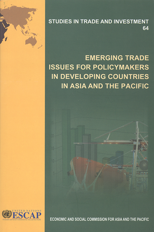 EMERGING TRADE ISSUES FOR POLICYMA