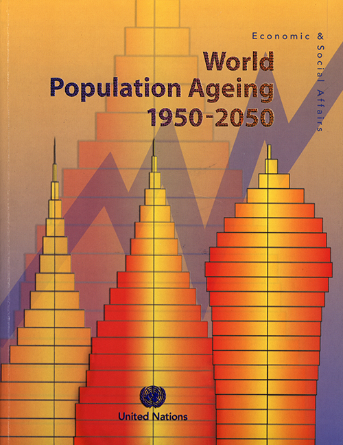 WORLD POPUL AGEING 1950/2050