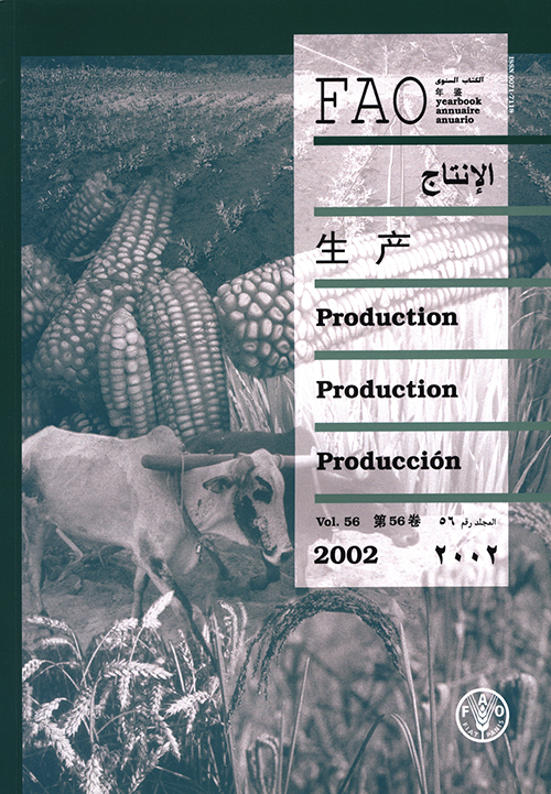FAO PRODUCTION YRBK 2002