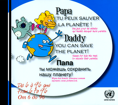 DADDY YOU CAN SAVE THE PLANET (CD)
