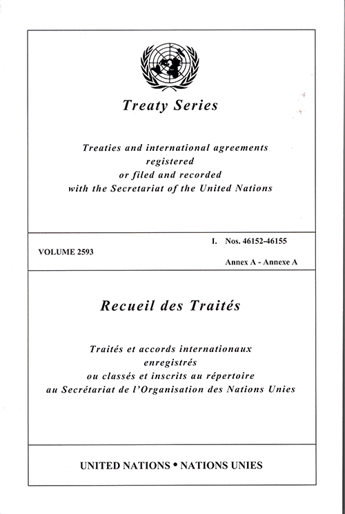 TREATY SERIES 2593 I 46152-46155