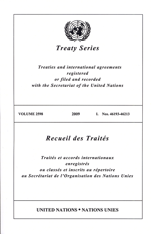 TREATY SERIES 2598 I 46193-46213