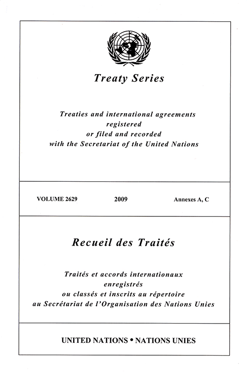 TREATY SERIES 2629 ANNEXES A, C