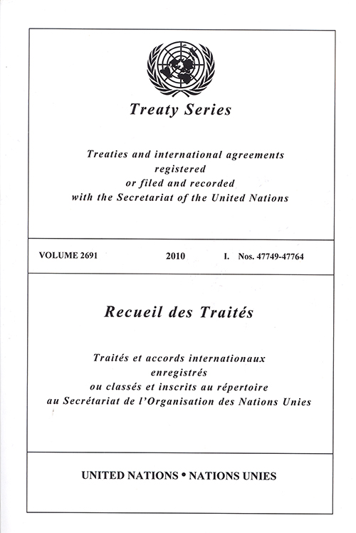 TREATY SERIES 2691