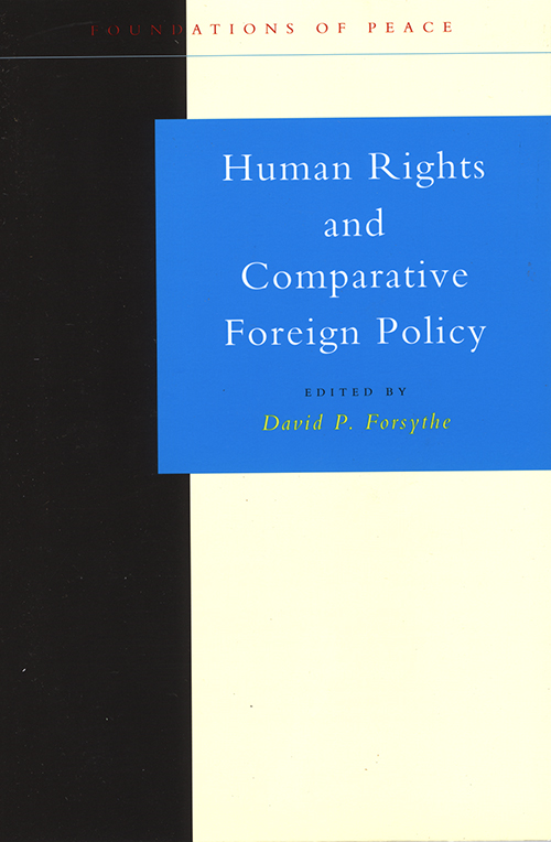 HUMAN RIGHTS COMP FOREIGN POL