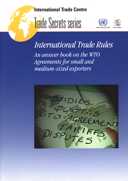 INTL TRADE RULES AN ANSWER BOOK