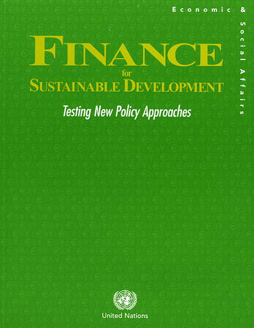 FINANCING FOR SUSTAINABLE DEV TEST