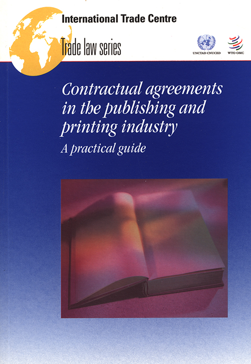 CONTRACT AGRMT THE PUBLISH INDUST