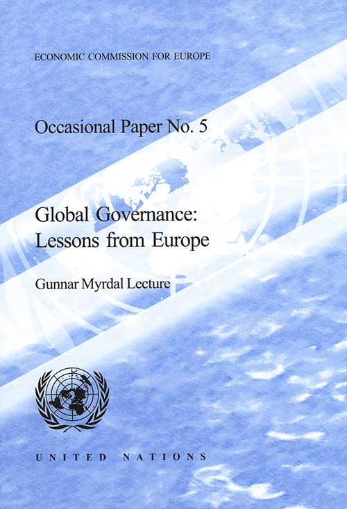 GLOBAL GOVERNANCE LESSONS FROM