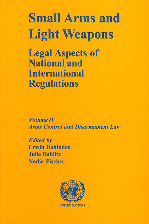 SMALL ARMS & LIGHT WEAPONS LEGAL