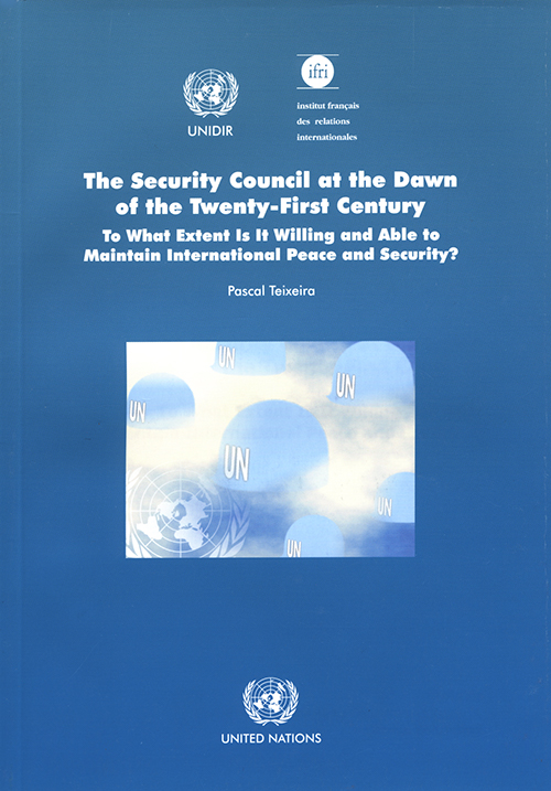 SECURITY COUNCIL THE DAWN 21ST