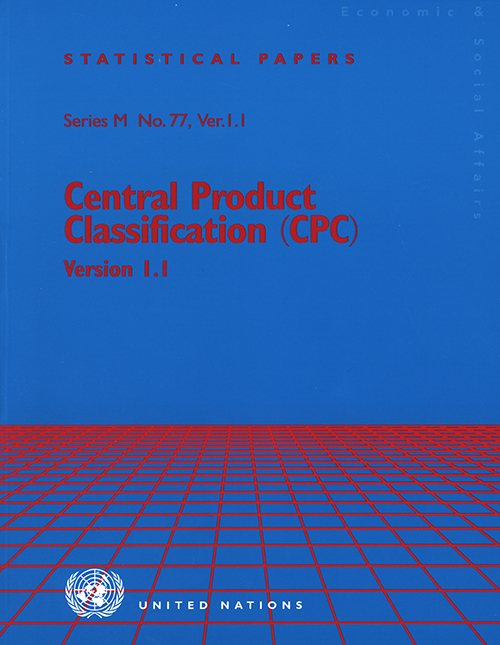 CENTRAL PRODUCT CLASS #1.1