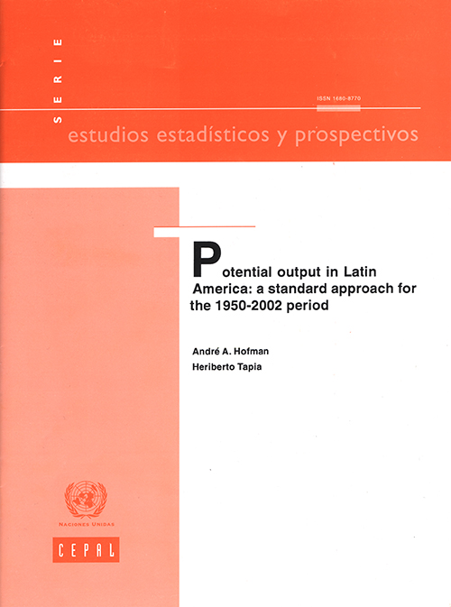POTENTIAL OUTPUT IN LATIN AMERICA | Shop.un.org : Official Source for  United Nations Books and More