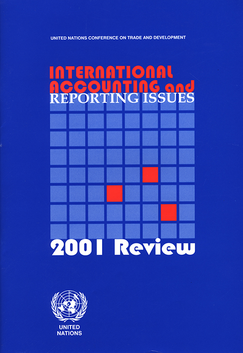 INTL ACC & REPORTING ISSUES 2001