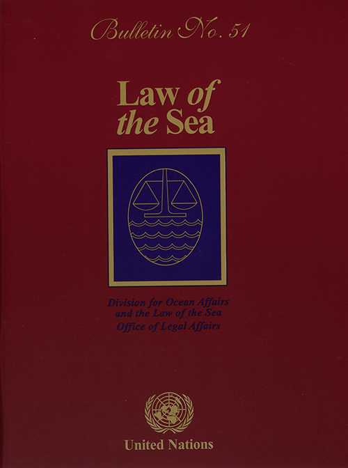 LAW OF THE SEA BULLETIN #51
