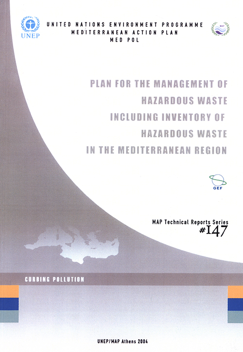 PLAN FOR THE MANAGEMENT OF HAZARDO