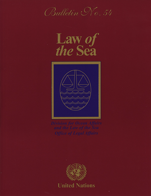 LAW OF THE SEA BULLETIN #54