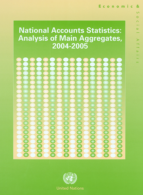 NATL ACCT STATS 2004/05 ANALYS