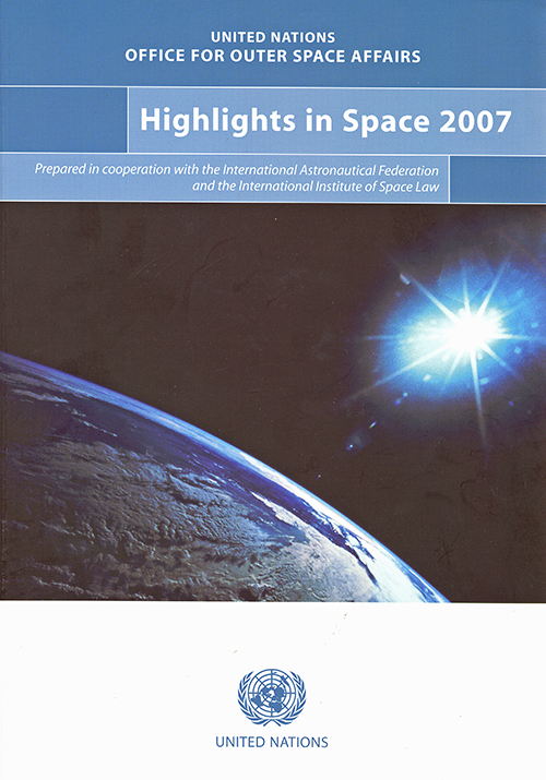 HIGHLIGHTS IN SPACE 2007
