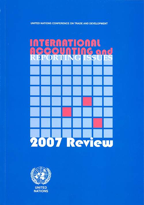 INTL ACC & REPORTING ISSUES 2007