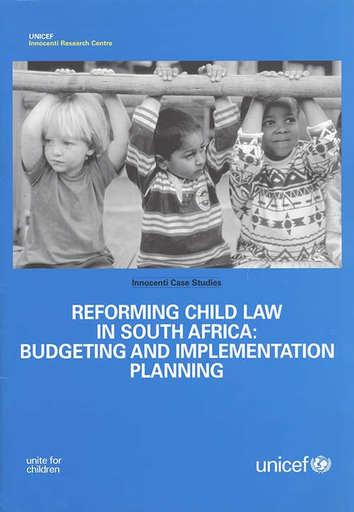 REFORMING CHILD LAW IN SOUTH AFRIC