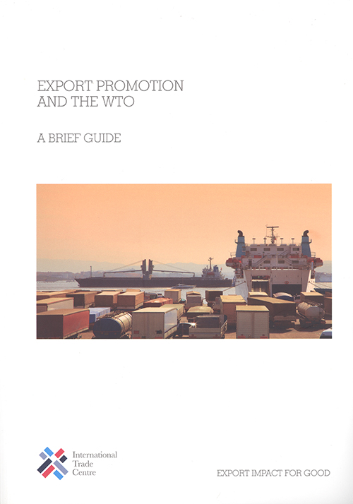 EXPORT PROMOTION & WTO