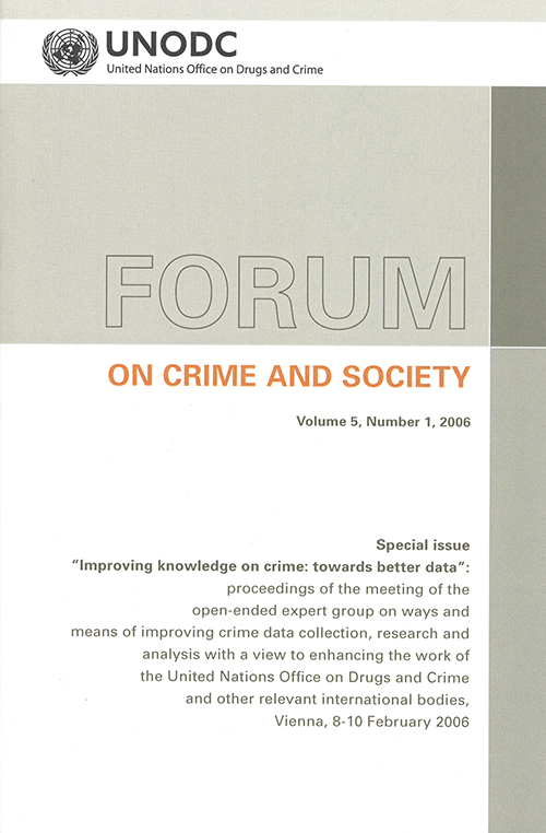 FORUM CRIME SOCIETY V5 2006