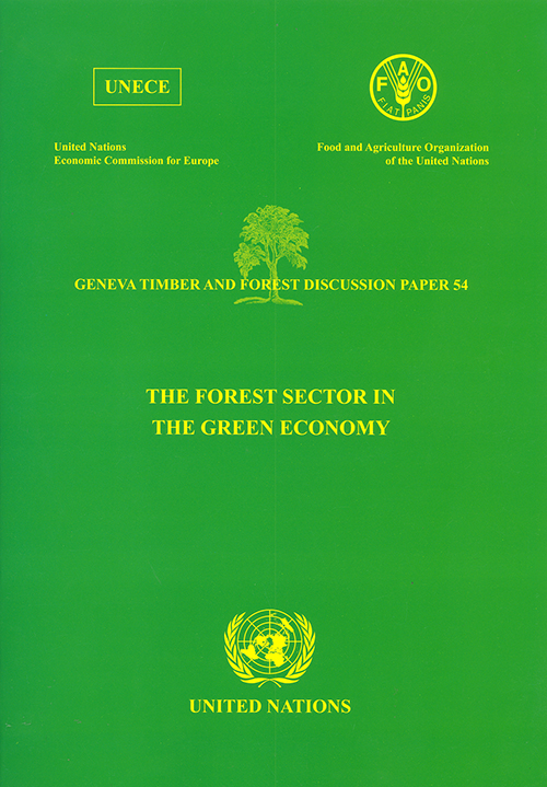FOREST SECTOR IN THE GREEN ECONOMY