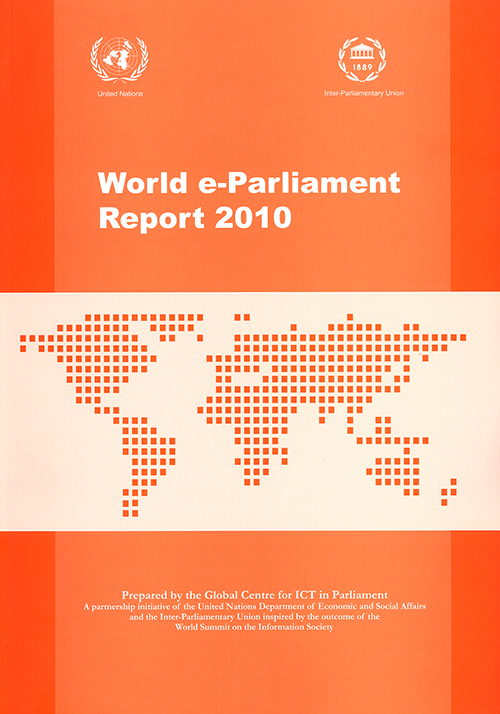 WORLD E-PARLIAMENT RPT 2010