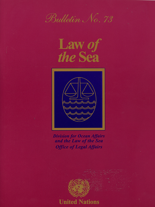 LAW OF THE SEA BULLETIN #73
