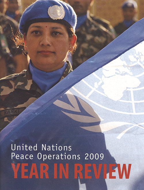 YEAR IN REVIEW 2009 UN PEACE OPER