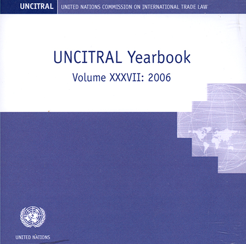 UNCITRAL YRBK 2006 V37 (CD)
