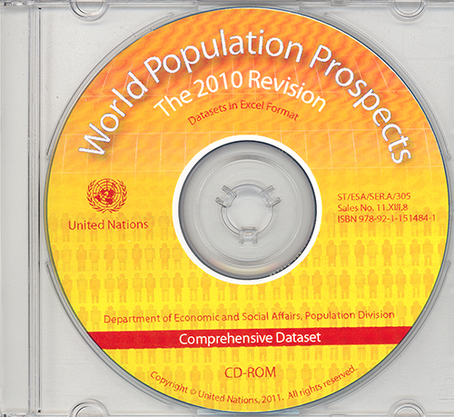 WORLD POPUL PROSPECTS 2010 (CD)