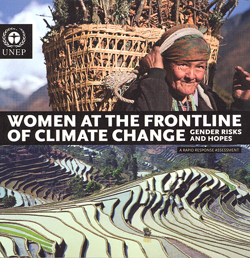 WOMEN AT THE FRONTLINE OF CLIMATE