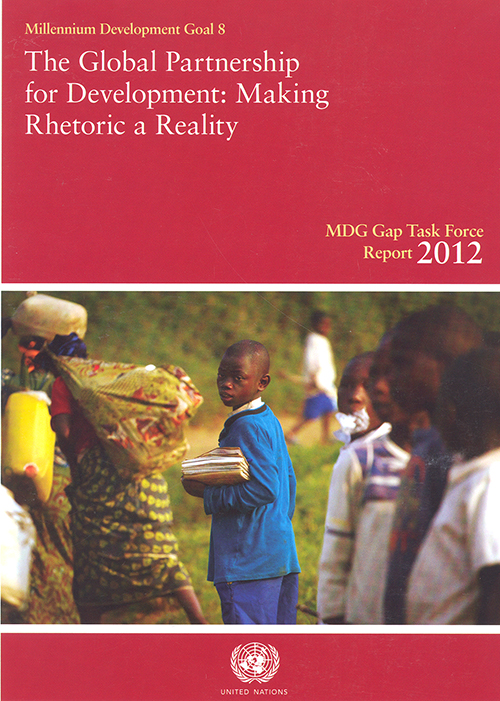 MDG GAP TASK FORCE RPT 2012
